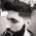 Barba perfilada