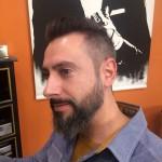 barba elegante y cuidada