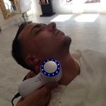técnica de afeitado con tecnología de última geneación