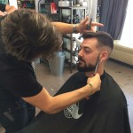 recorte de barba