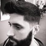 Barba con tupe