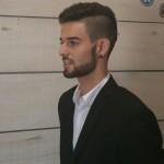 barba bien definida y recortada