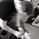 ritual de afeitado con nuevas tecnologías