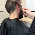 Afeitado tradicional con navaja