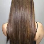 reflejos naturales en cabello oscuro