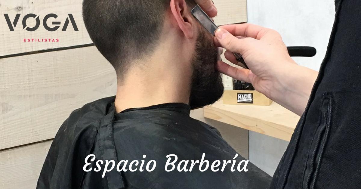 Espacio barberia